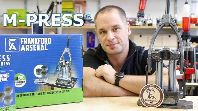 Frankford Arsenal – M-Press™ Reloading Press