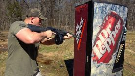 Full Auto AK & 458 SOCOM vs Soda Machine (Full Auto Friday)