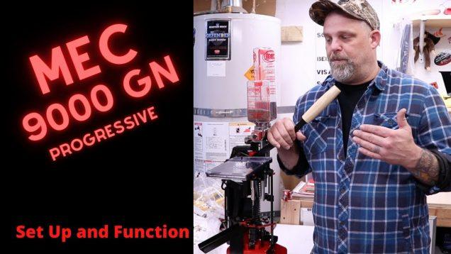 MEC 9000GN Progressive Press Set-Up and Function Basics (Part 1)