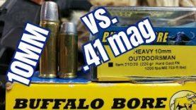 10mm vs. .41 magnum for Bears