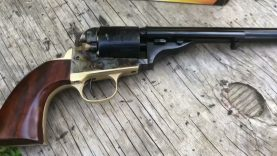 1872 Open Top Army .38 Colt and Special, 7 1/2″ first shots