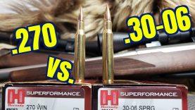 .270 win vs .30-06 sprfld Hornady Superformance GMX