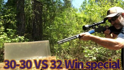 32 Win Special vs 30-30 FTX bullets vs Clear Ballistics