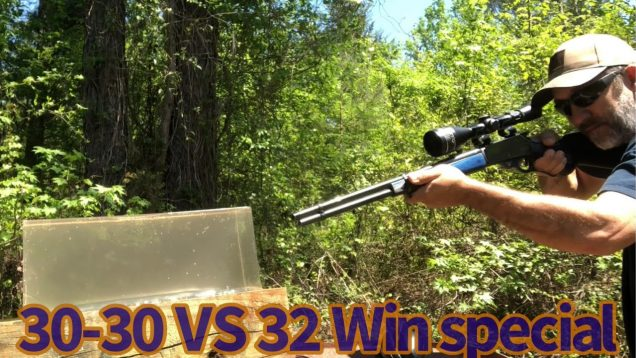 32 Win Special vs 30-30 FTX bullets vs Clear Ballistics
