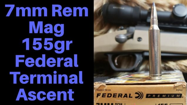 7mm Remington Magnum 155gr Federal Terminal Ascent