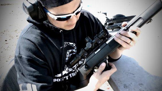 9mm Bolt Action Rifle (Range Time!)