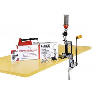 Lee 4-Hole Turret Press Kit with Auto Drum Powder Measure