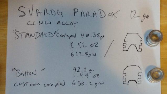 Modified Paradox Pin