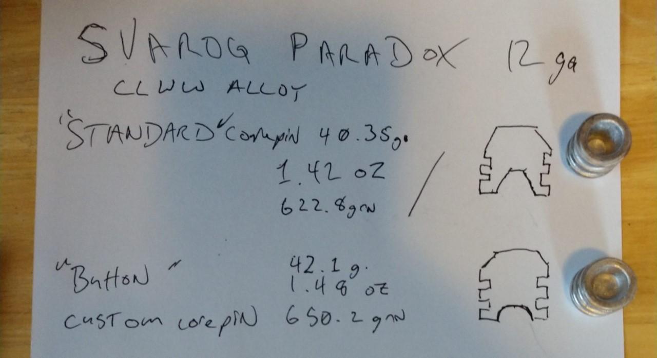 Modifying Svarog Paradox Core Pins for Bacon and MIC 2