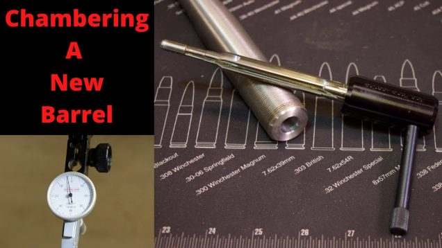 Chambering a new barrel for the wife's rifle (PT 2). 6.5 Creedmoor