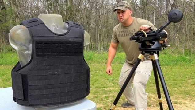 Gatling Gun vs Indestructible Body Armor 💪