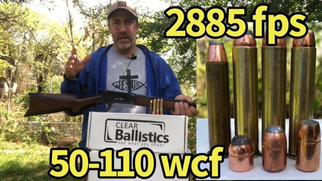Lever action elephant rifle vs ballistic gelatin