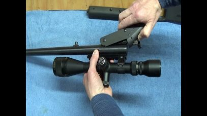 NEF Handi Rifle Disassembly and Cleaning