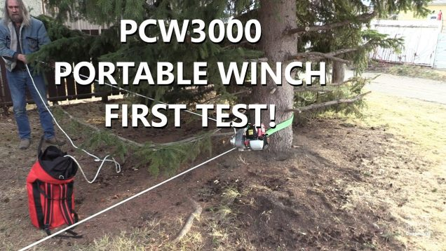 PCW3000 Portable Winch – First Test