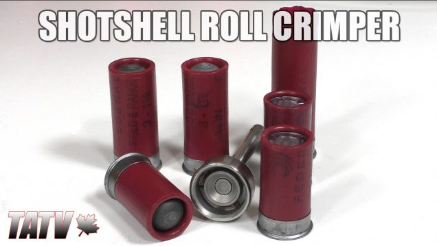 Shotshell Roll Crimper