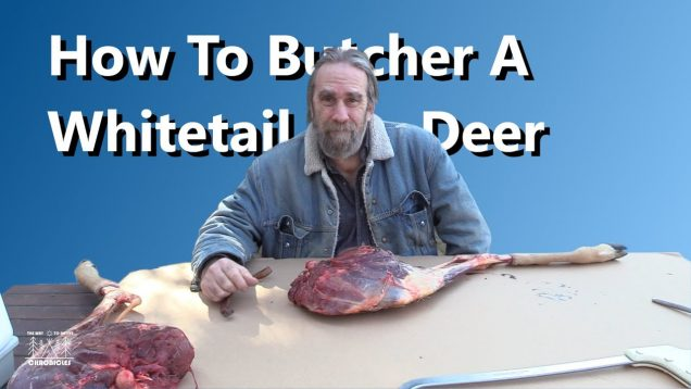 The Simple Principles Method Of Butchering A Whitetail