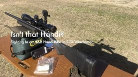 WCChapin | Isn't that Handi? – Sighting in an H&R Handi-Rifle in 270 Winchester