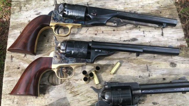 1872 Cimarron Open Top VS 1860 Colt Army VS Ruger super single six