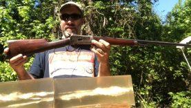 1892 Winchester 32-20 Win 4 different bullets VS ballistic gelatin