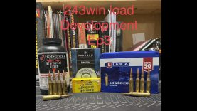 243win Ruger M77 Load Development EP3