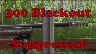 300 AAC Blackout- doing what it does best!
