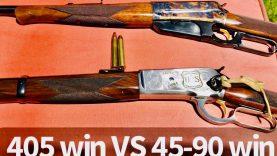 300gr TSX 405 Win VS 45-90 Win ballistic gelatin