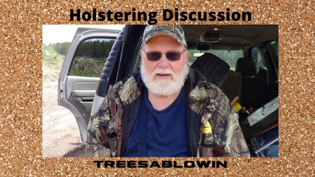 Holstering Discussion