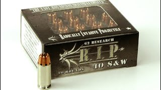 """R.I.P. rounds, """"The last rounds you will ever need?"""" Range test"""