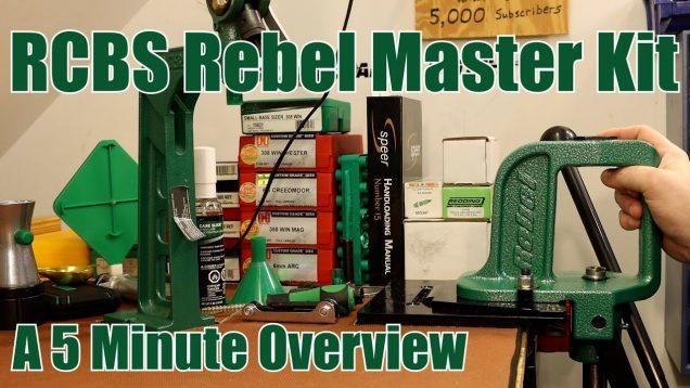 RCBS Rebel Master Kit – Short Version