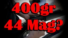 Shooting 400gr Subsonic Ammo in my Marlin Dark 44 Magnum Levergun