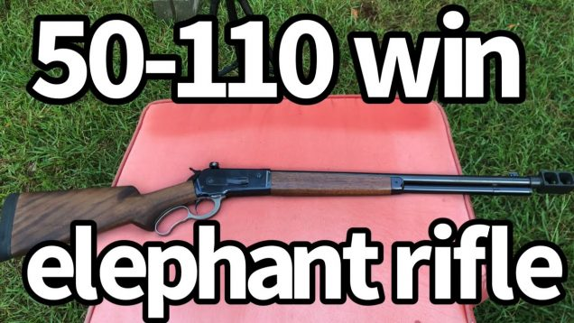 1886 lever action elephant rifle 700 gr lead & 650 gr solid copper