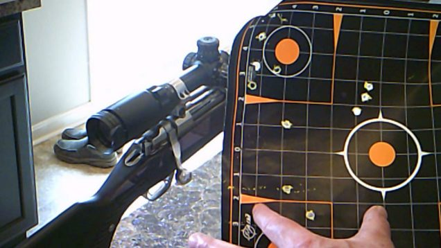 Cast Zinc 243 Winchester load at the range