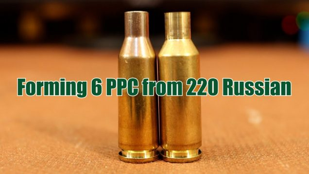 Forming 6 PPC brass