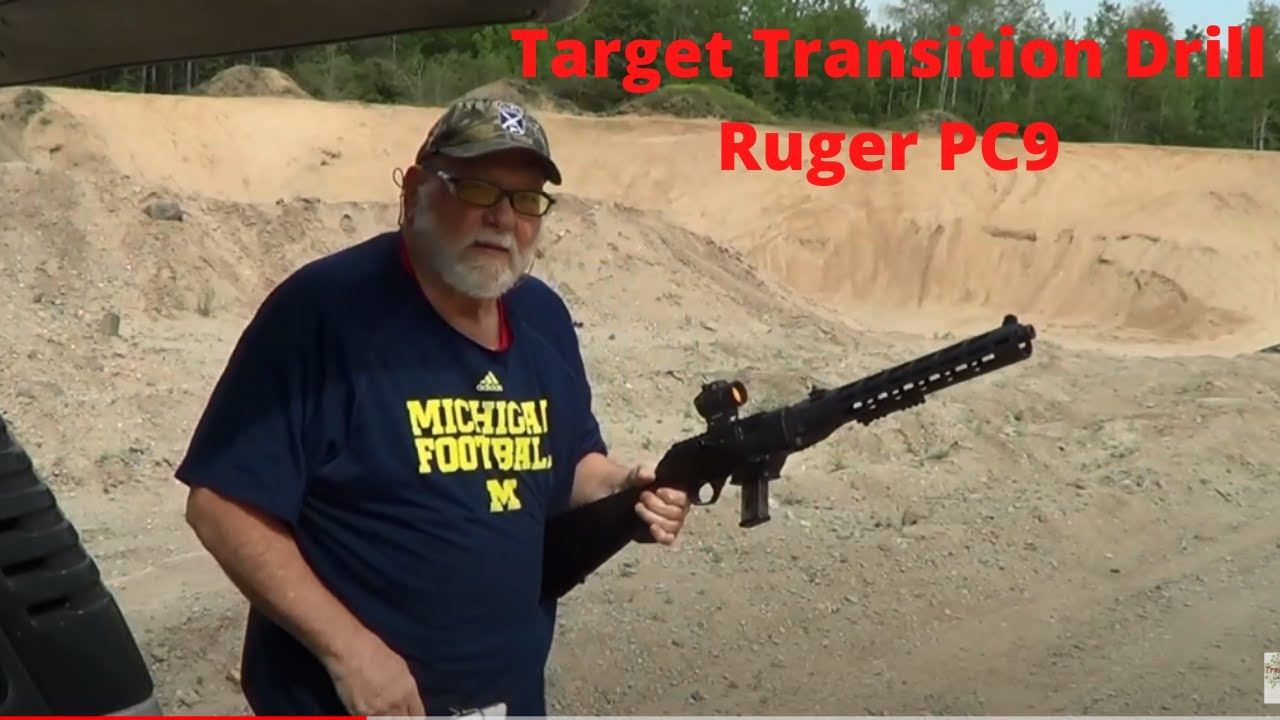 Target Transition Drill Ruger PC9