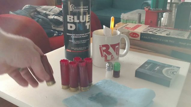 TRN Shotshell Reloading Kit with Expirimentally Loading Slugs