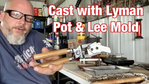 Trying out Lyman Pot and Lee 356-120 TC Mold