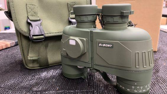 Binoculars SV27 BAK4 With Compass