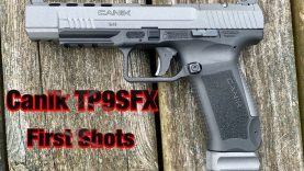 Canik TP9SFX First Shots with PMC Ammo