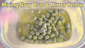 Mixing Eastwood Navy Blue & Mirror Yellow on Lee 452-200-RF Bullets