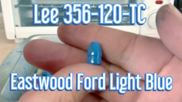 Powder Coating Lee 356-120-TC with Eastwood Ford Light Blue