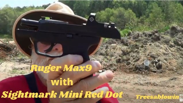 Ruger Max9 with Sightmark Mini Red Dot with Bloopers