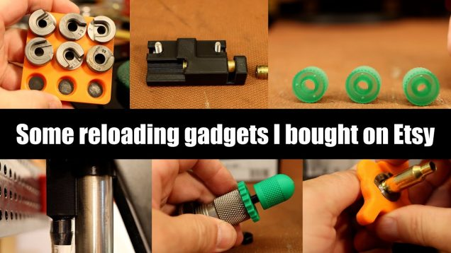 Some reloading gadgets I bought on Etsy