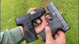 S&W Shield -Taurus G2C: Head to Head