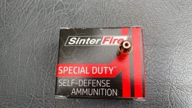 Testing the Sinter Fire special duty rounds