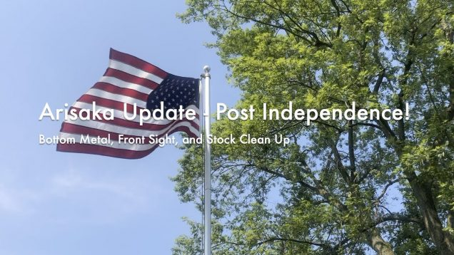 WCChapin | Arisaka Update – Post Independence… | Bottom Metal, Front Sight, and Stock Clean Up
