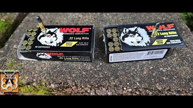 Wolf Match Extra Lapua/SK vs Eley: CZ455 Lothar Walther Barrel