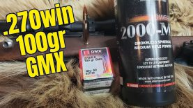.270 Win Hornady 100gr GMX Review
