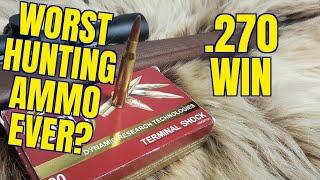.270 Winchester DRT 117gr Ammunition