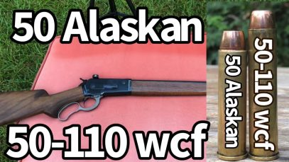 50 Alaskan 🆚 50-110 WCF Out of a 1886 Winchester lever action