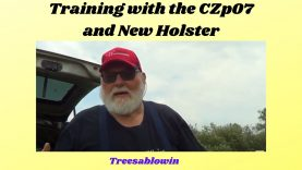 Draw Training P07 and New Holster